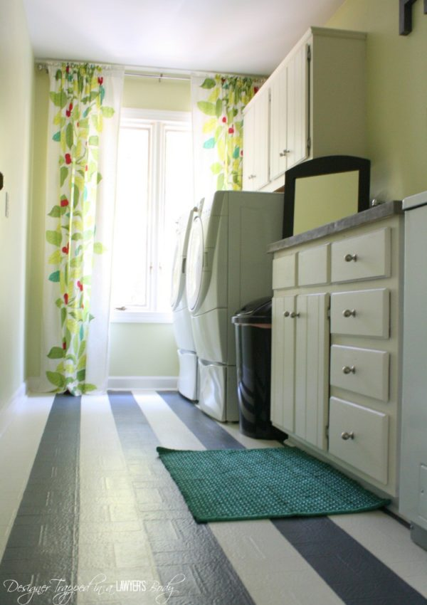 DIY Laundry Room Reveal