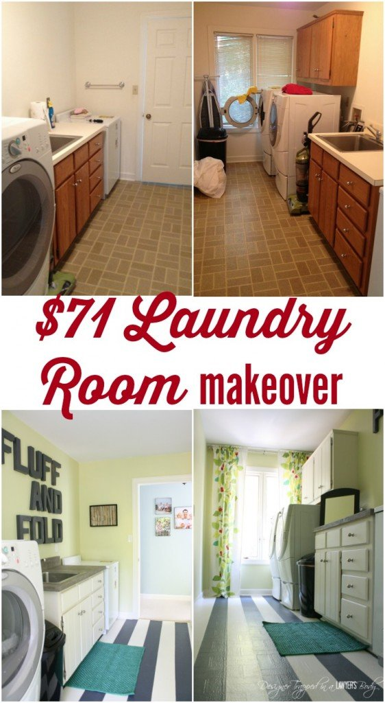 7100 diy laundry room makeover thrifty makeover tips for Laundry room redo blog