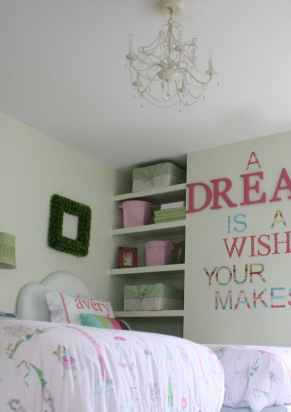 The BIG GIRL Room Reveal {all princesses welcome}