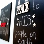 DIY Chalkboard Christmas Canvases by Designer Trapped in a Lawyer's Body {designertrapped.com}