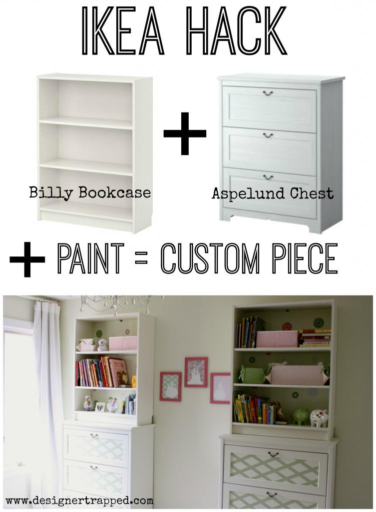 Ikea Hack: Customize Ikea Furniture by Designer Trapped in a Lawyer's Body {designertrapped.com}