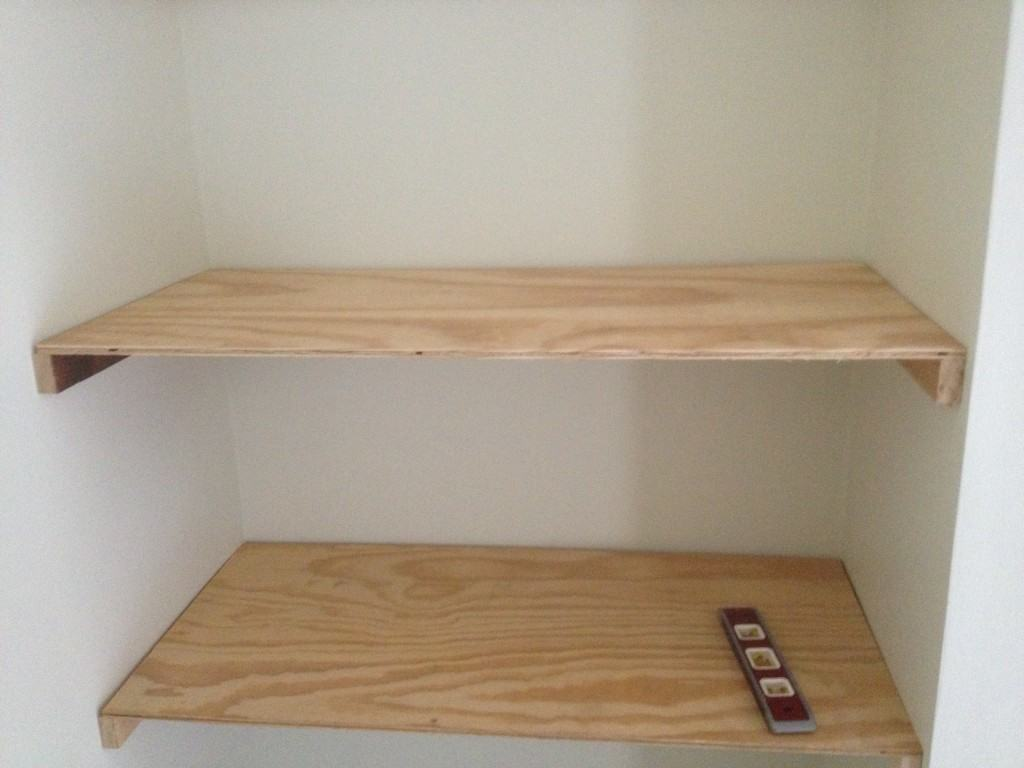 DIY Floating Shelves Tutorial by Designer Trapped in a Lawyer's Body {designertrapped.com}