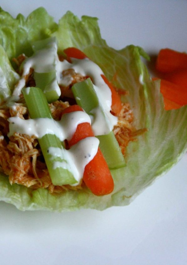"How We ""Do It All"" No.1 {Buffalo Chicken Lettuce Wraps}"