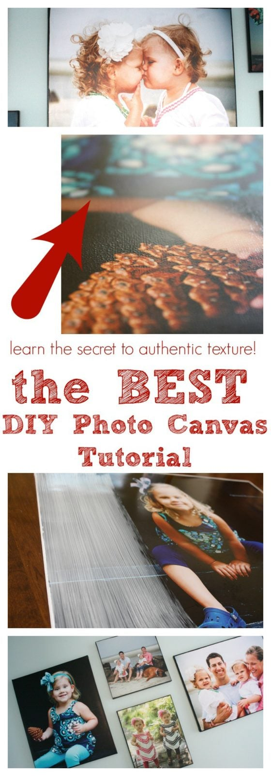 DIY Photo Canvas Tutorial by Designer Trapped in a Lawyer's Body {designertrapped.com}