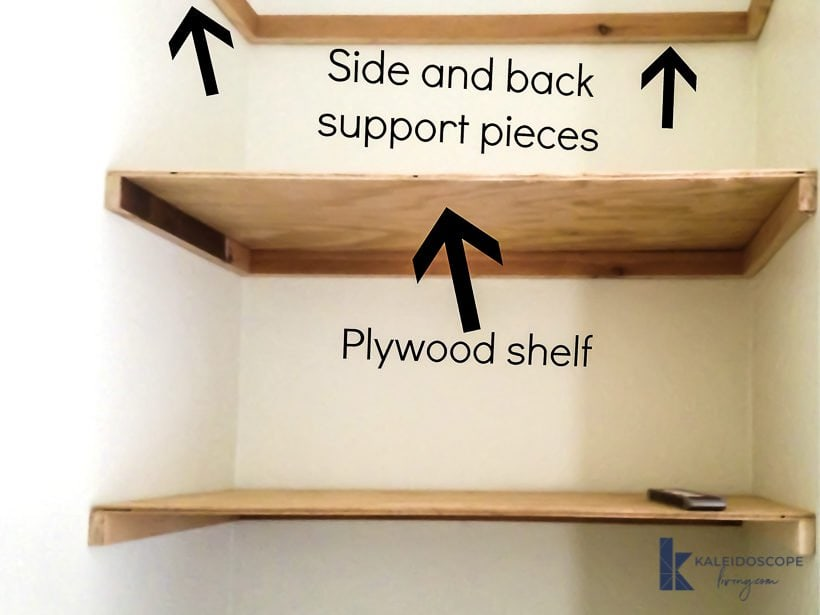 diy floating shelves installation