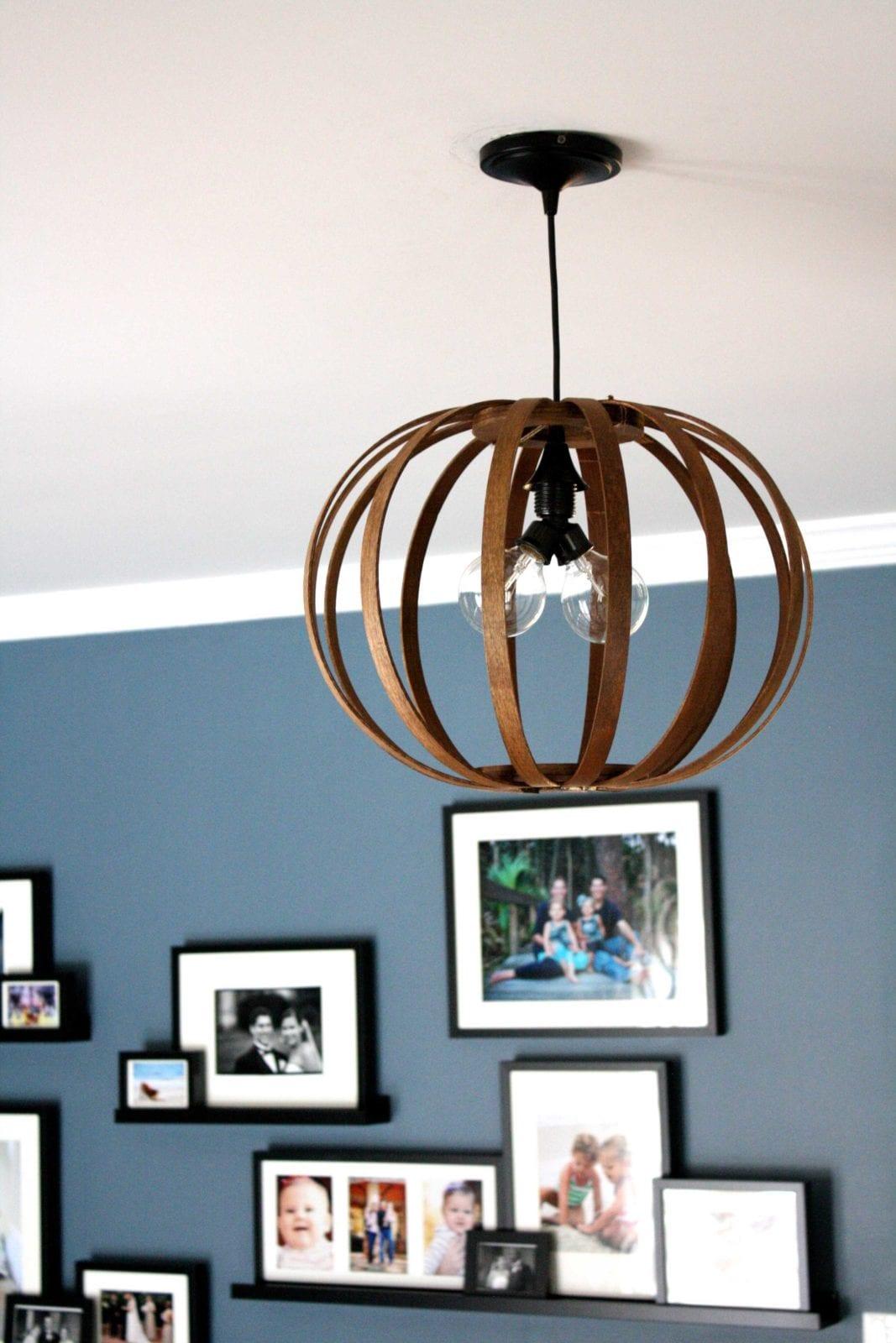 bentwood chandelier