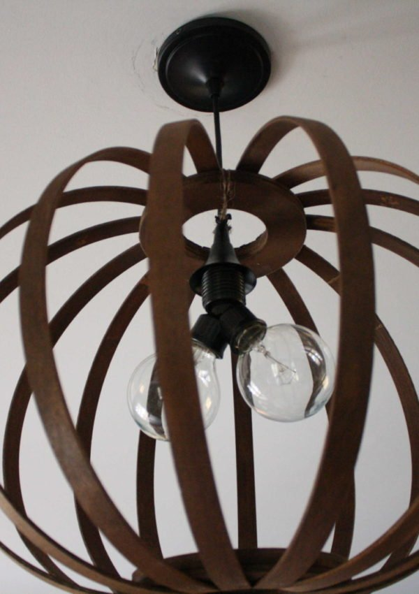A Stylish Lighting Update for the Family Room