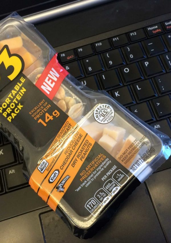 Convenience + Meat + Cheese + Nuts = P3 Portable Protein Packs