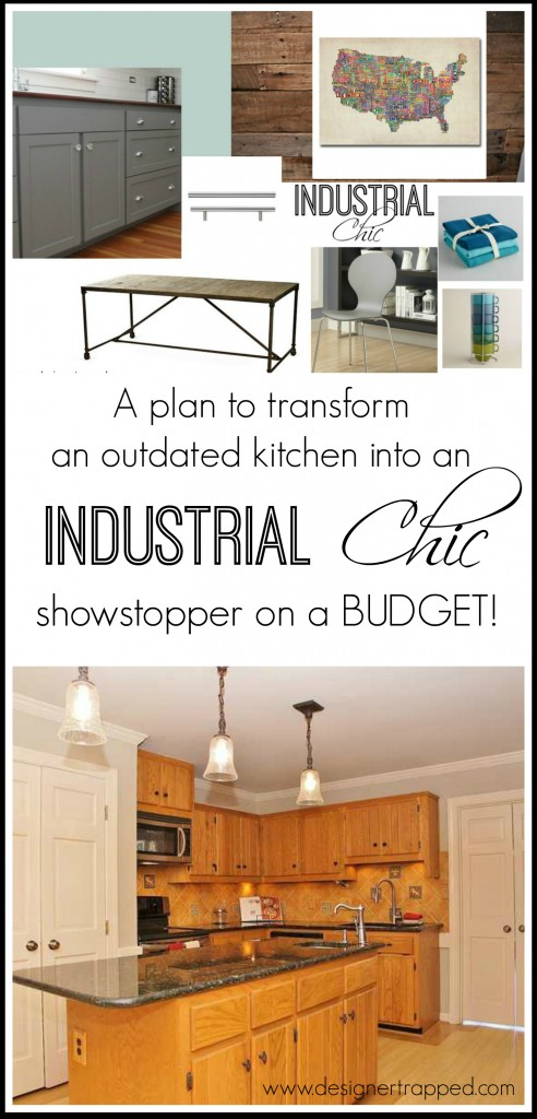 et Kitchen Makeover Plans by Designer Trapped in a Lawyer's Body {designertrapped.com}