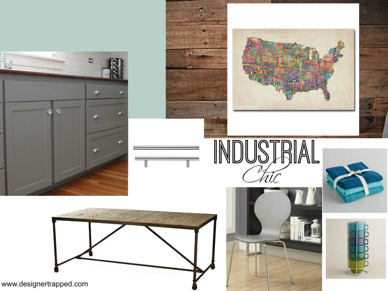 Kitchen Makeover Plans by Designer Trapped in a Lawyer's Body {designertrapped.com}