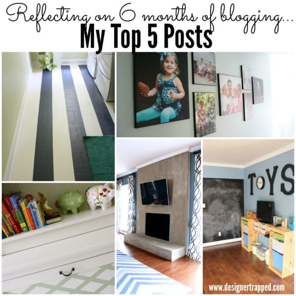 Pin now, read later! My Top 5 posts after 6 months of blogging by Designer Trapped in a Lawyer's Body {designertrapped.com}