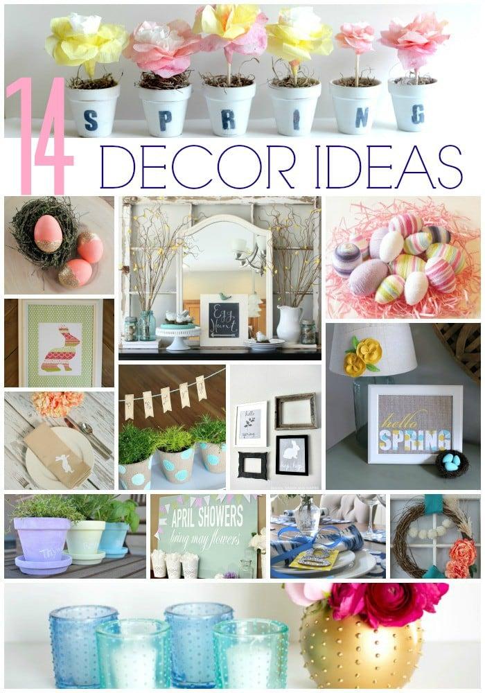 MUST PIN! 14 Fabulous Spring Decor Ideas!
