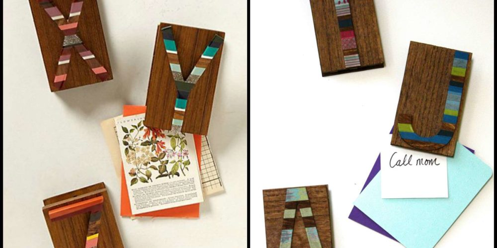 Pleasing Candied Letter Desk Clips Anthropologie Knock Off Beutiful Home Inspiration Xortanetmahrainfo