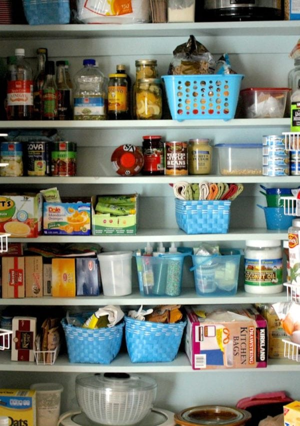 Our Pantry Makeover  {and Top 5 Pantry Organization Tips!}