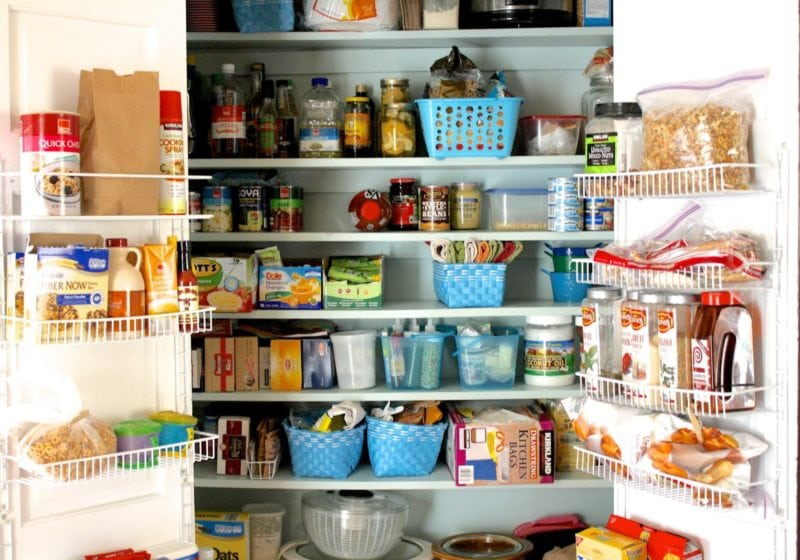 Pantry Organization Ideas by Designer Trapped in a Lawyer's Body {designertrapped.com}