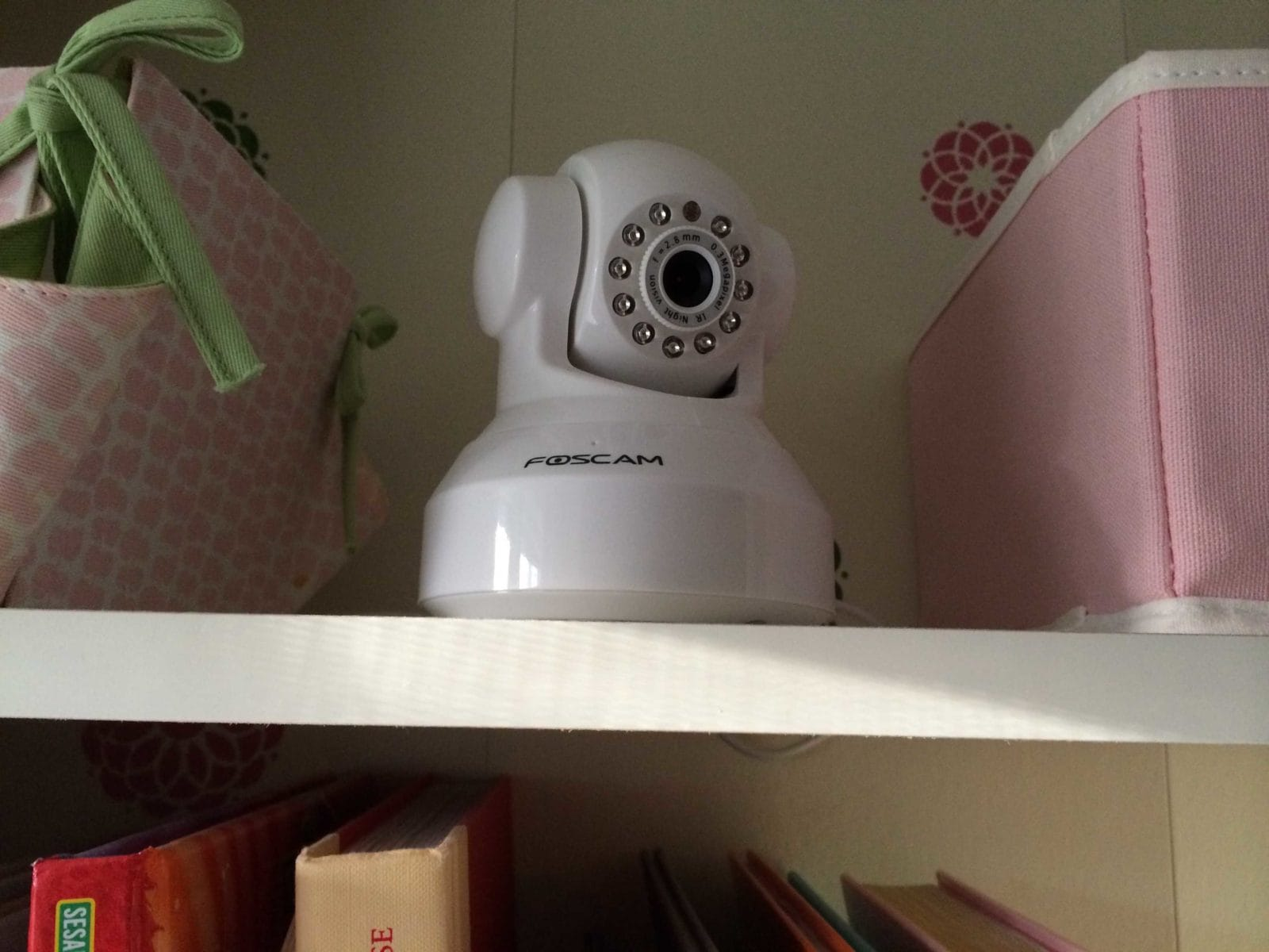 The BEST and CHEAPEST video baby monitor! Full details by Designer Trapped in a Lawyer's Body {designertrapped.com}