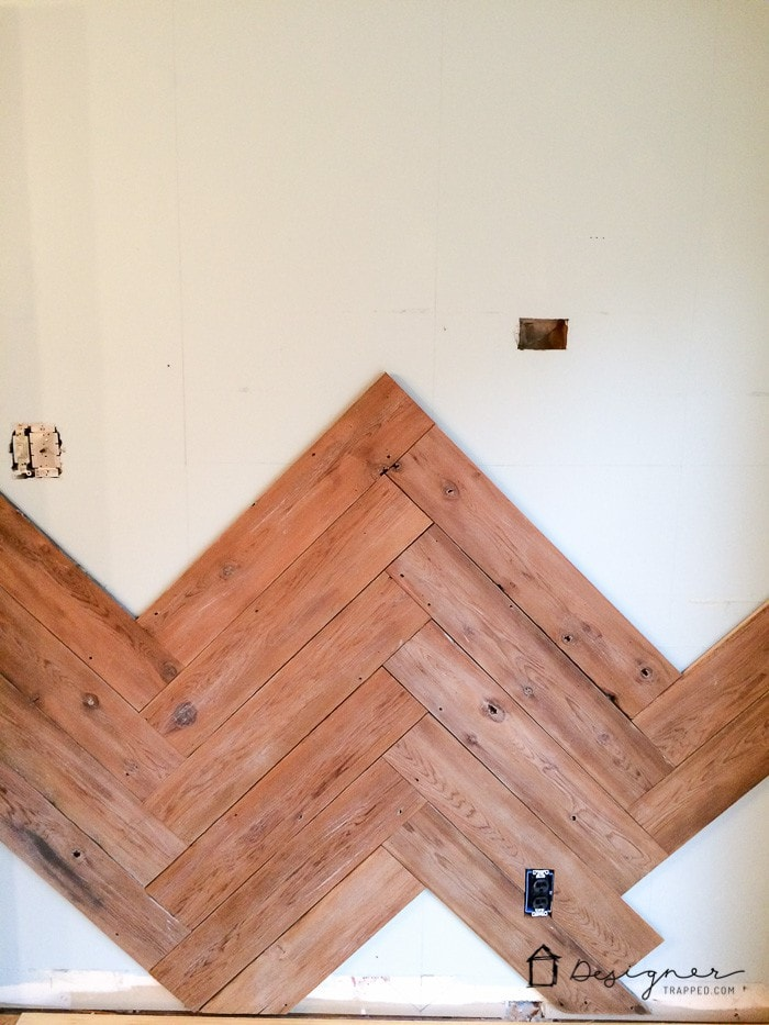in process herringbone wall