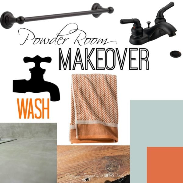 Powder Room Makeover- Choosing paint at The Paint Studio at Ace Hardware! #sp #ad