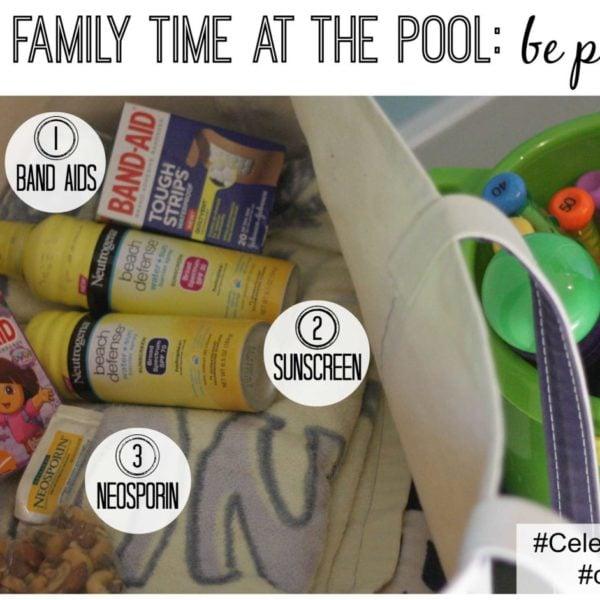 Celebrate the Goal of Family Time at the Pool--Go prepared! #CelebrateEveryGoal #shop #cbias