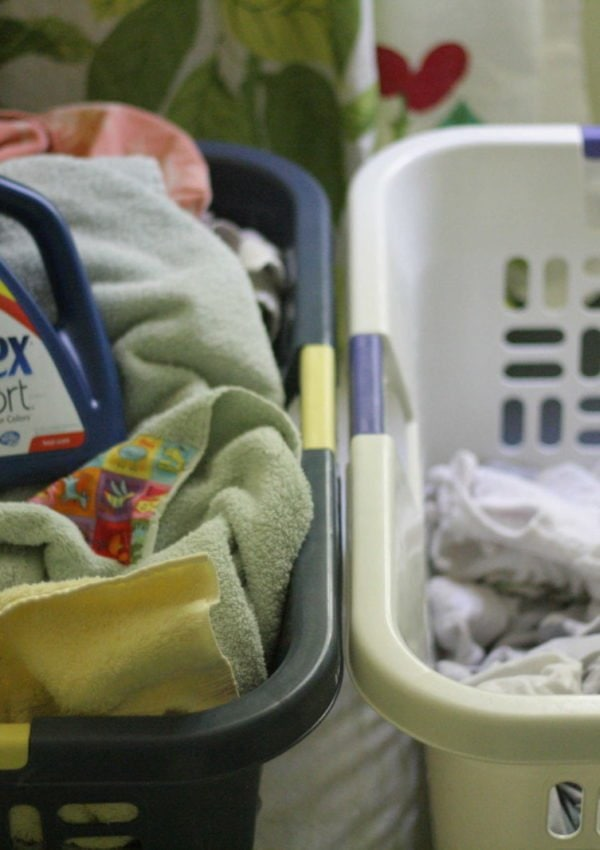 How I Save LOADS of Time ~ stop sorting laundry!