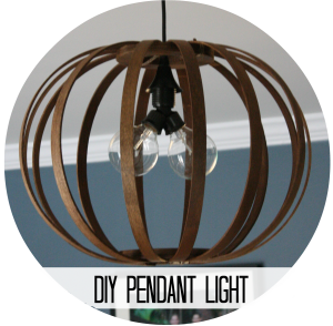 Pendant light button