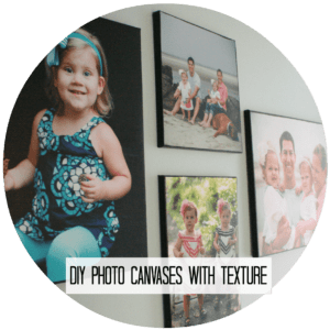 Photo Canvas button