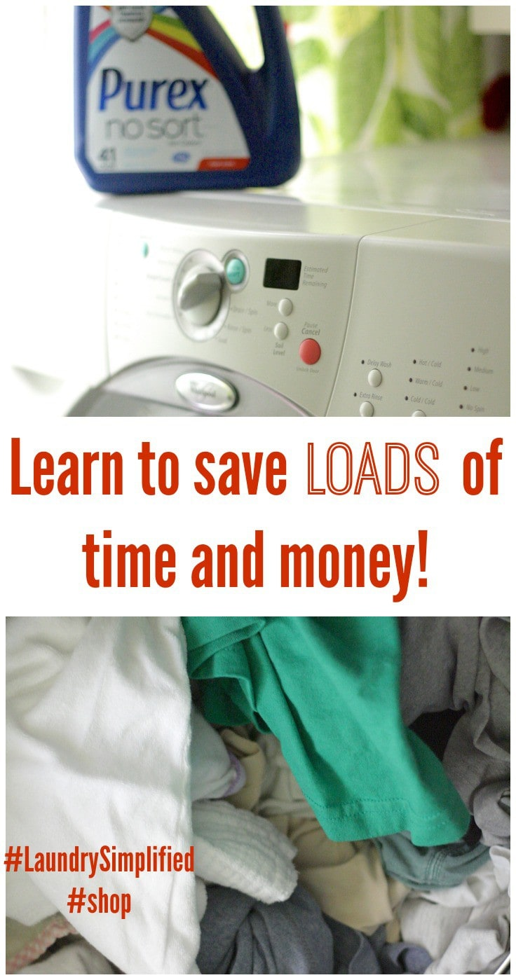 How I Save LOADS of Time ~ stop sorting laundry