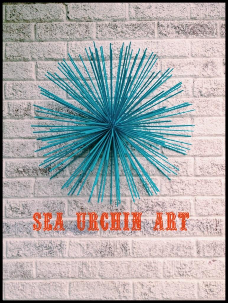 Sea Urchin Art by Paper & Fox