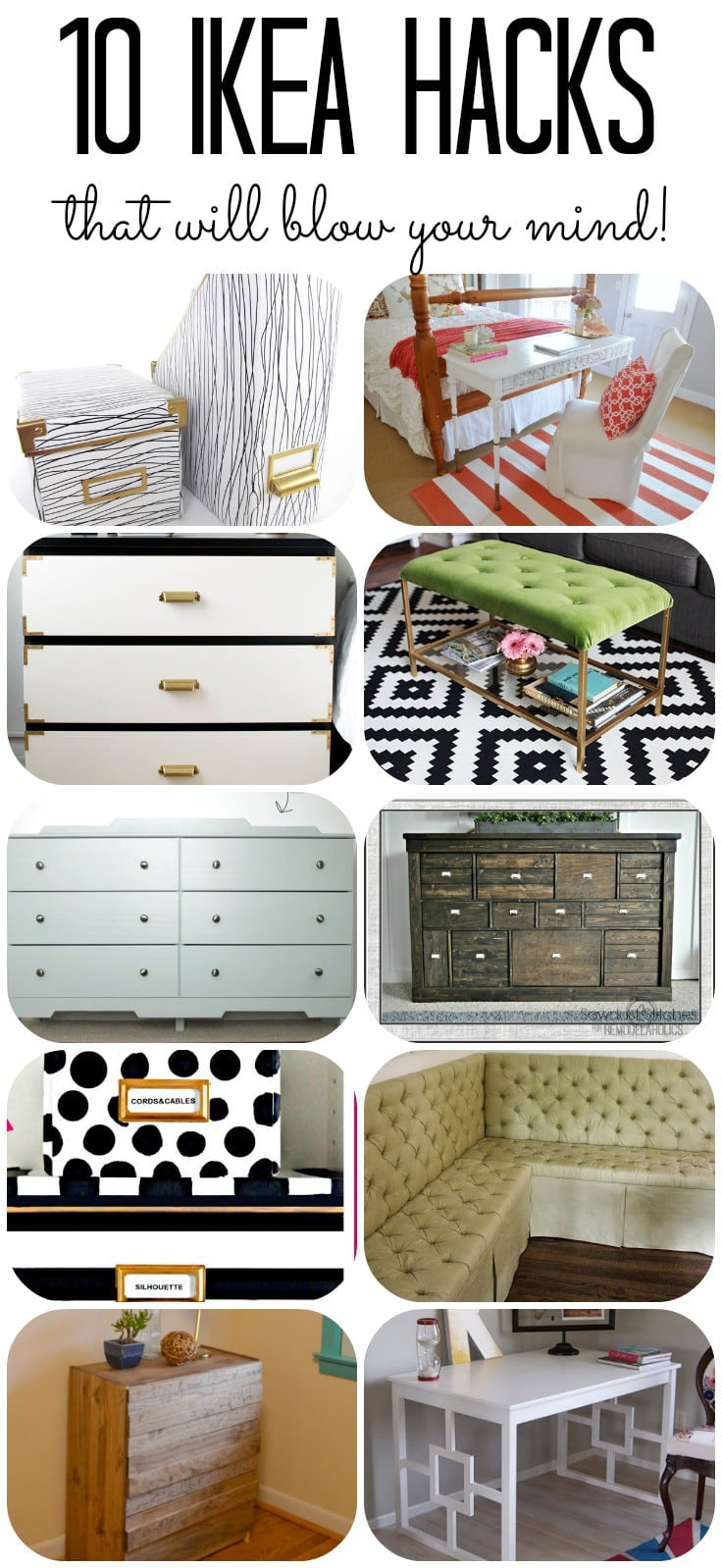 10 Amazing IKEA Furniture Hacks: Inspired DIY Projects
