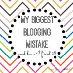 Learn all about my biggest blogging mistake and my thoughts on Blogger vs Wordpress!