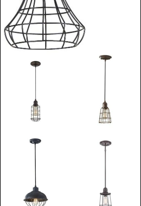 "Industrial Pendant Lighting ~ ""Where did she get those lights?!"""