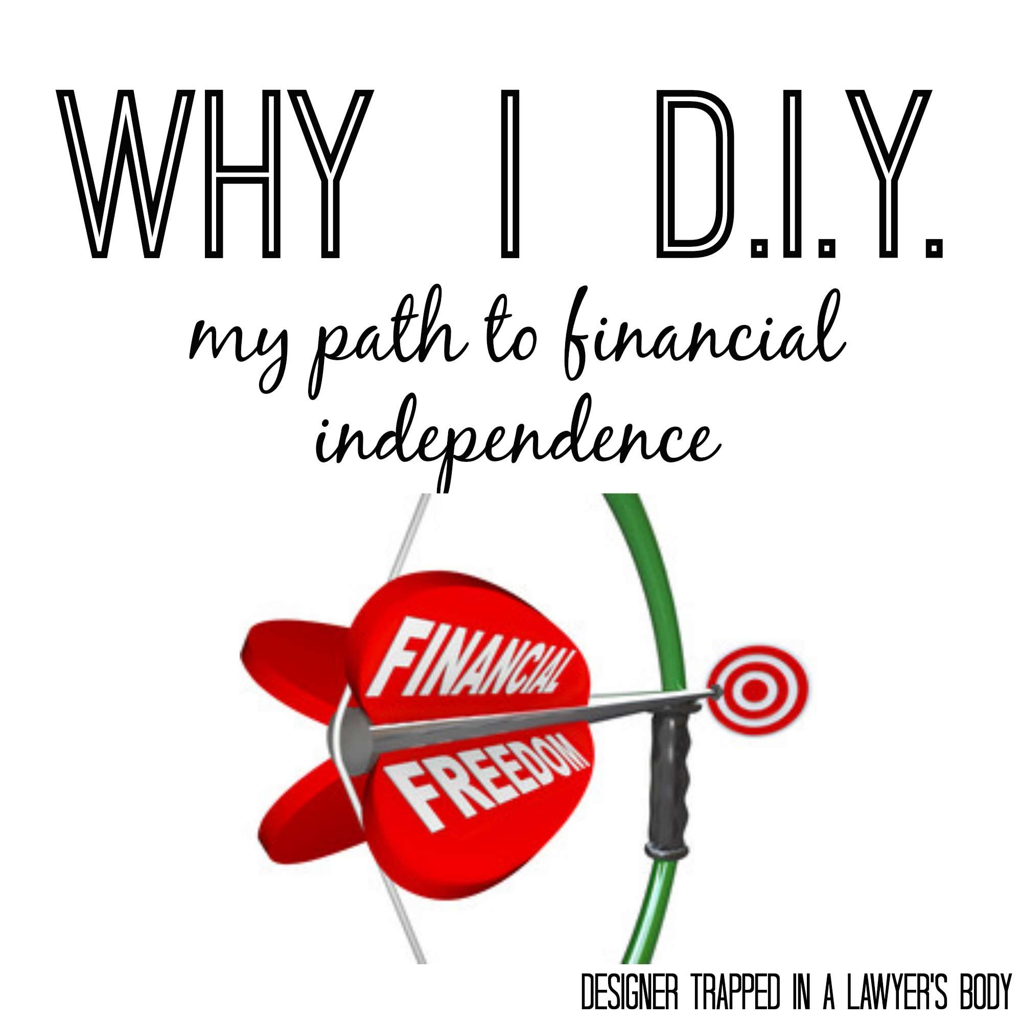 Working toward financial independence by Designer Trapped in a Lawyer's Body. #my360independence #ad