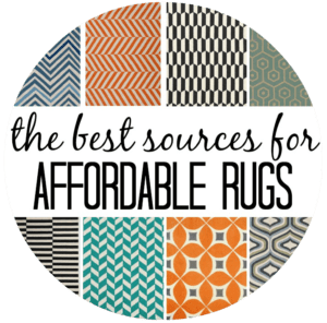 affordable rug button
