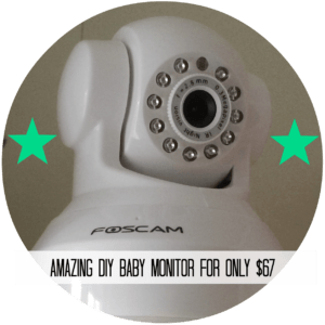 baby monitor button