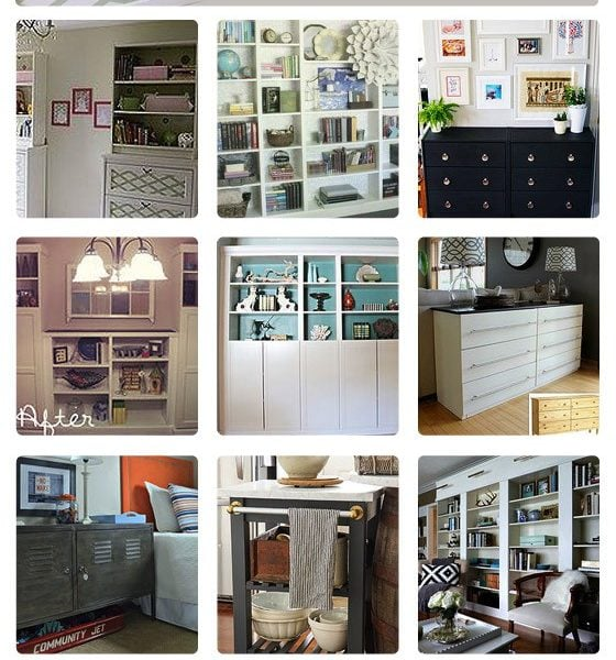 18 Fabulous Ikea Hacks to customize Ikea furniture by Designer Trapped in a Lawyer's Body for Hometalk!