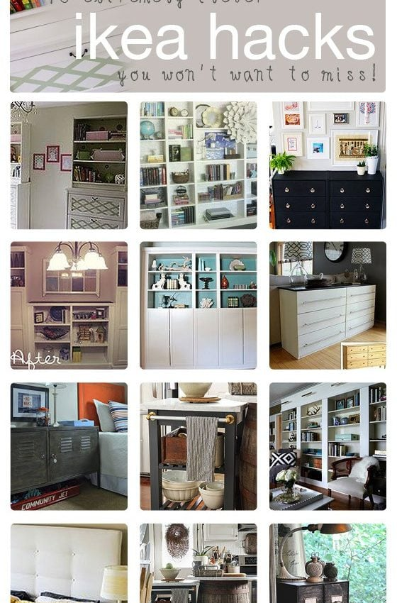 10 Fabulous DIY IKEA Hacks: How To Customize IKEA Furniture!