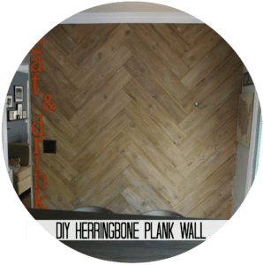herringbone wall button