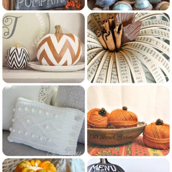 10 Inspiring Fall Decor Ideas! #falldecor