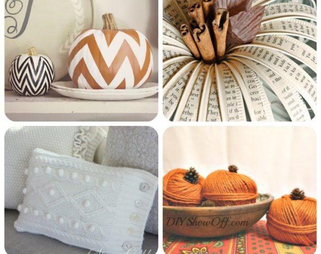 10 Inspiring Fall Decor Ideas! #falldecor
