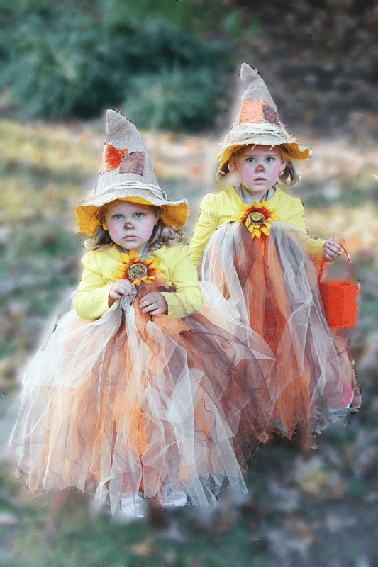 Diy Scarecrow Tutu Halloween Costume Adorable And Easy