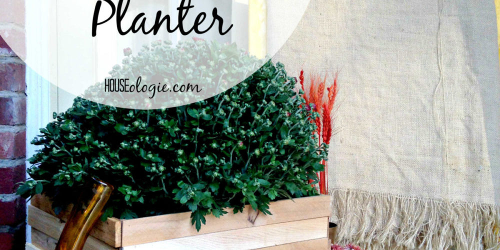 AWESOME Wood and Copper Planter tutorial by Houseologie for Designer Trapped in a Lawyer's Body! #diyplanter