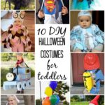 adorable DIY Halloween costumes for toddlers