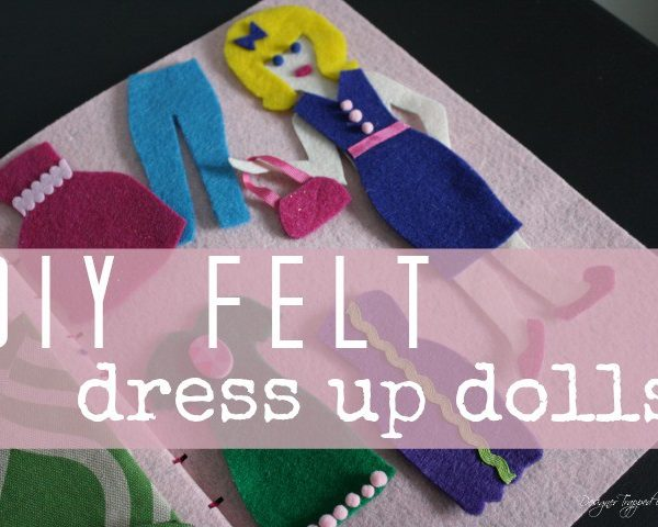 DIY Dress Up Dolls