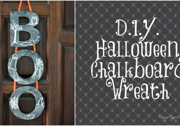 How to Make a Halloween Wreath {it's easy and adorable}