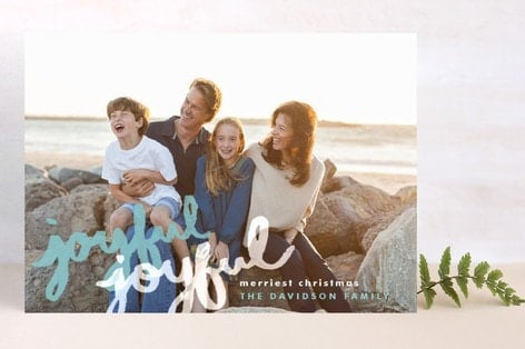 LOVE the holiday card selection at Minted.com! #holidaycards #minted
