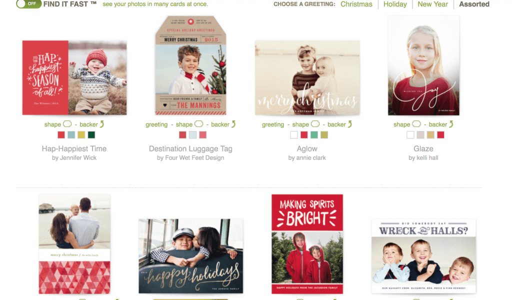 Minted Christmas Cards. LOVE the holiday card selection at Minted.com! #holidaycards #minted