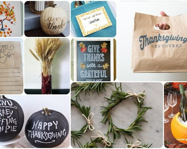 10 Inspiring DIY Thanksgiving Crafts and Decor