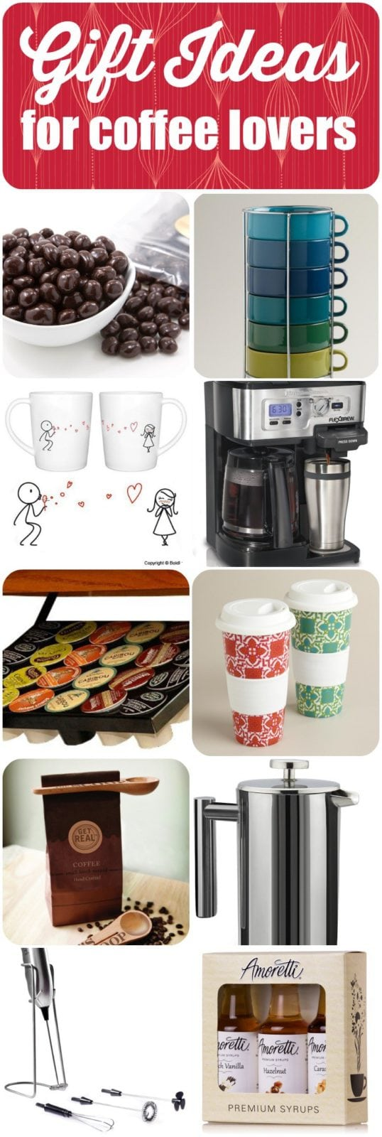 Gift Ideas for Coffee Lovers: Holiday Gift Guide + Giveaway