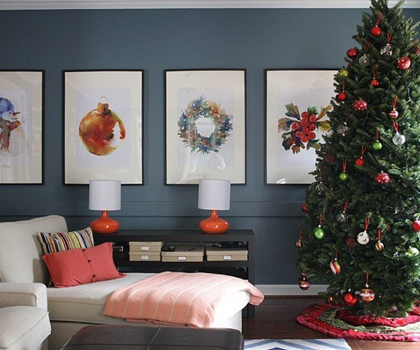 Christmas Decorating Traditions + Best Dressed Home Sweepstakes
