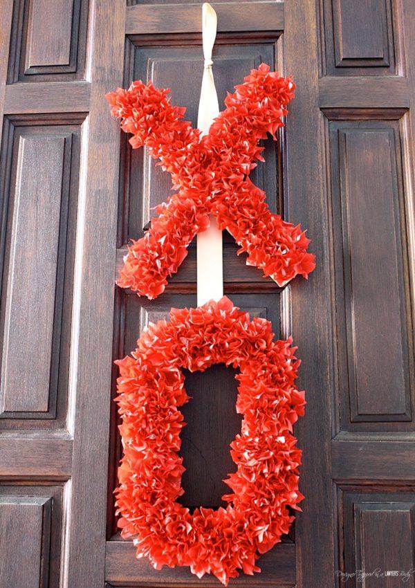 DIY Valentine's Day Wreath